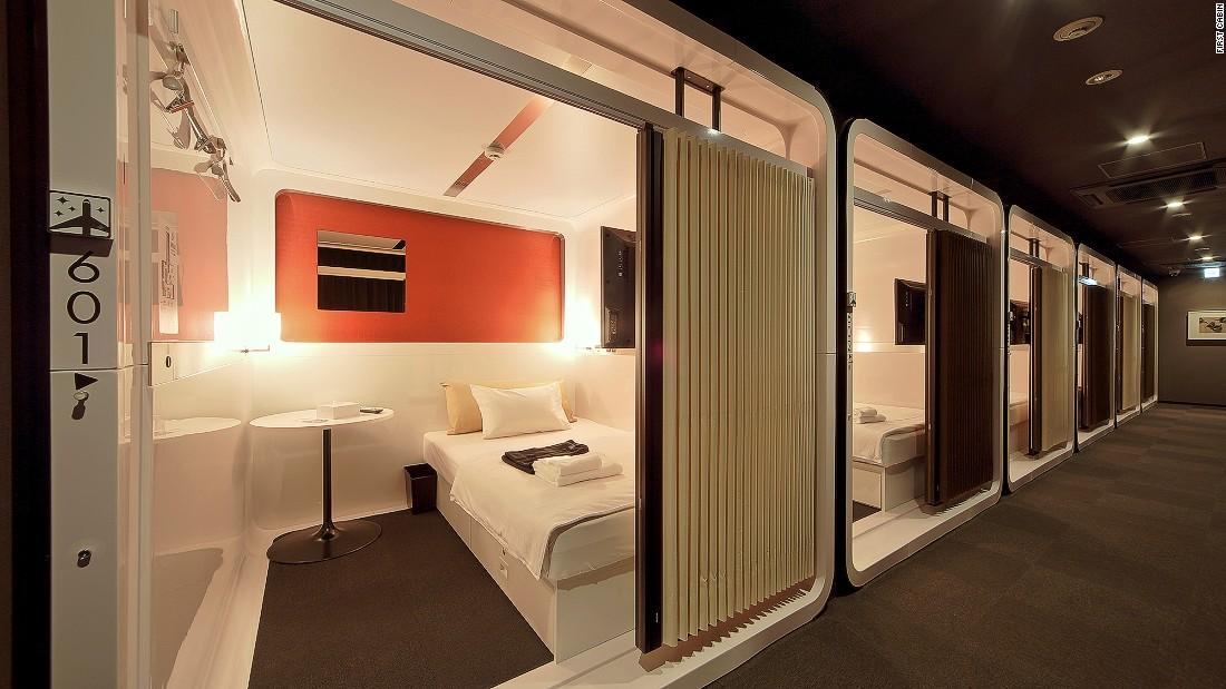 Posh pods inside tokyo 39 s most interesting capsule hotels for Design hotel usa
