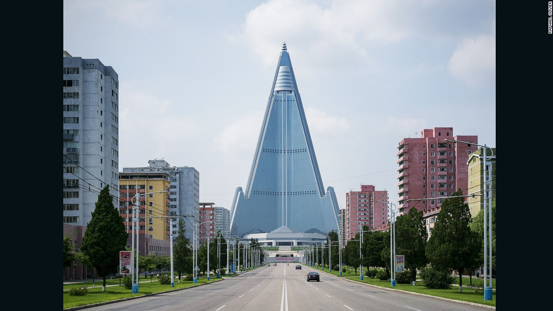 Why North Korea's capital is the 'perfect science fiction film set'