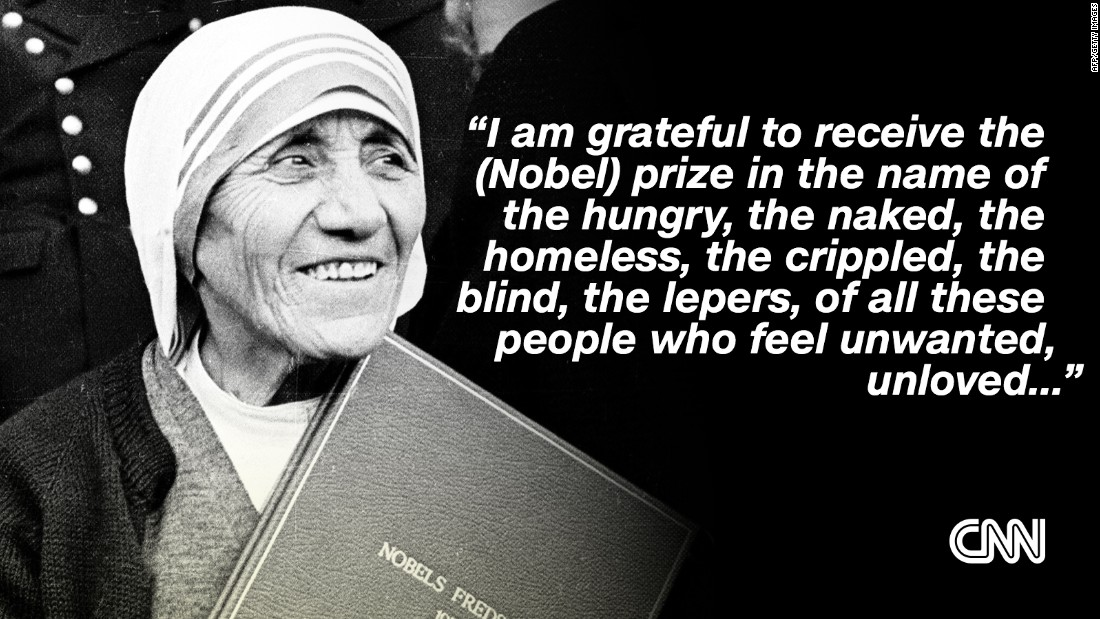 essay on mother theresa
