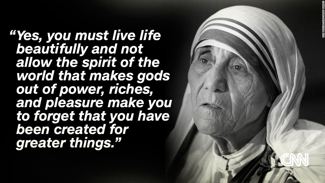 Mother Teresa S Most Inspiring Quotes