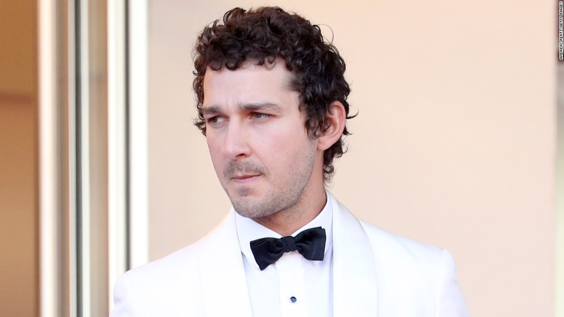 Shia LaBeouf begins four-year President Trump protest ... Shia Labeouf
