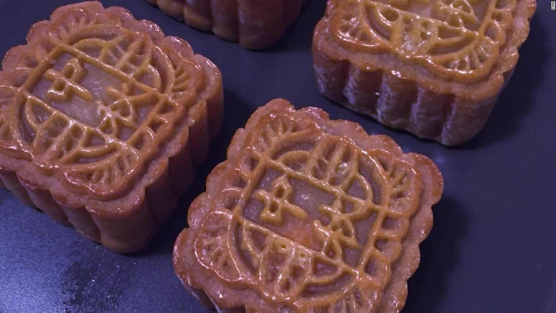 chinese moon cake mooncakes pastries of flavor calories 2791