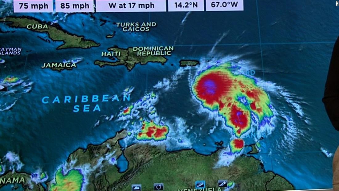CNN Update: Hurricane Matthew Threatens Jamaica, Cuba
