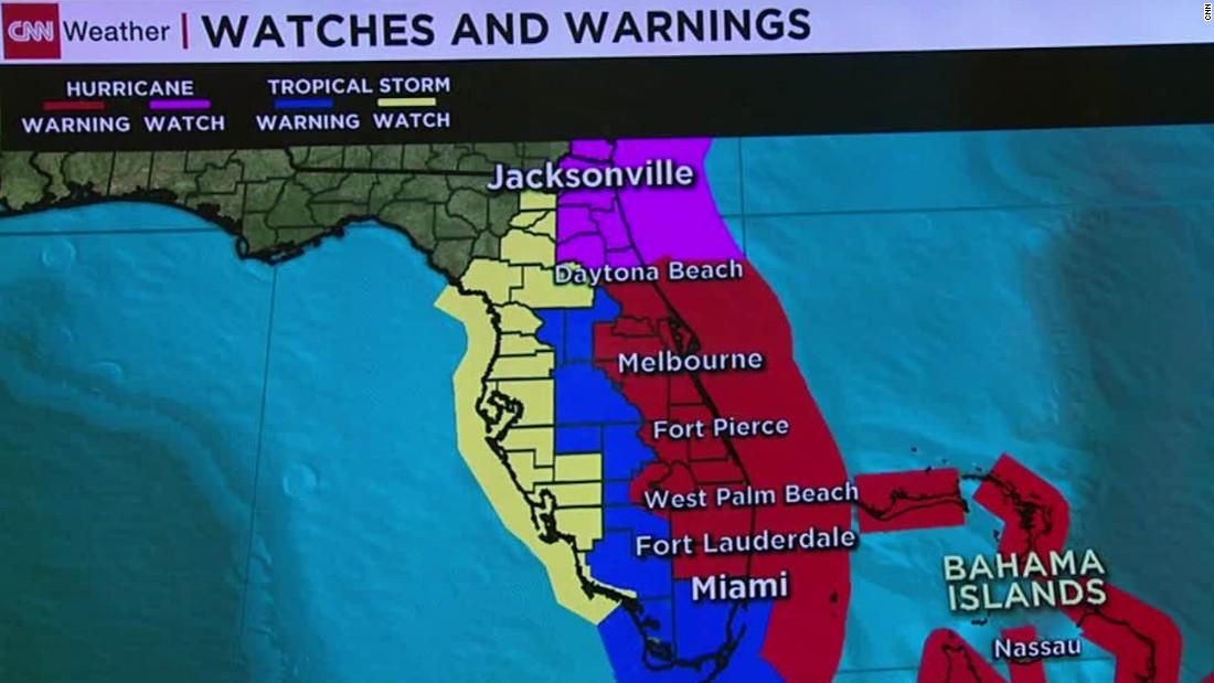 CNN Update: The Latest On Hurricane Matthew