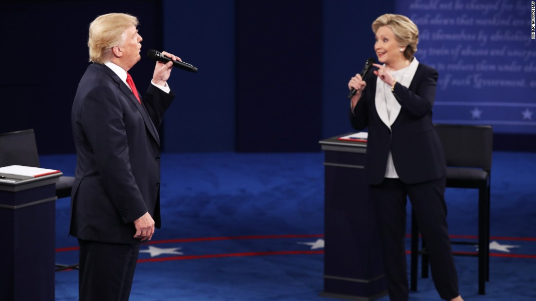 The scorched-earth presidential debate in 2 minutes - CNN ...