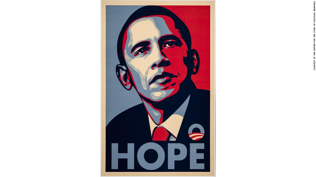 Obama 'Hope' artist's Orwellian take on Donald Trump - CNN.com