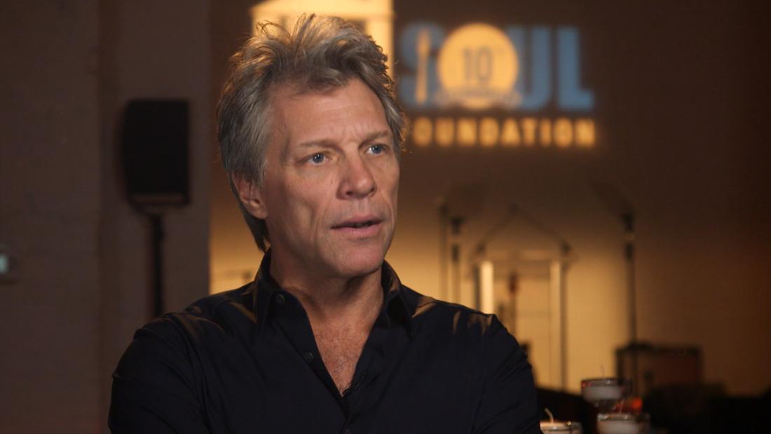 image of Bon Jovi's pay-it-forward mission