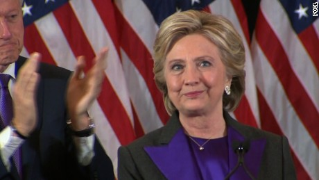 Image result for Hillary Clinton concession speech