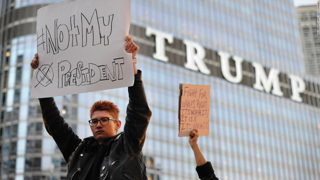 Image result for anti trump protest signs