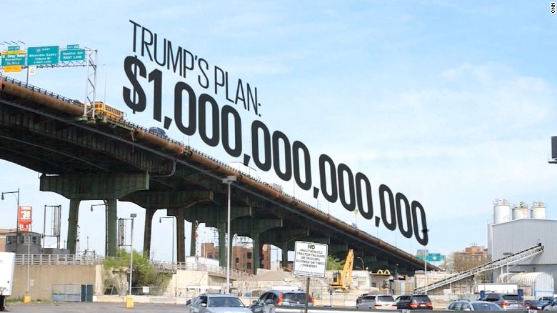 Donald Trump's trillion-dollar infrastructure plan faces ...