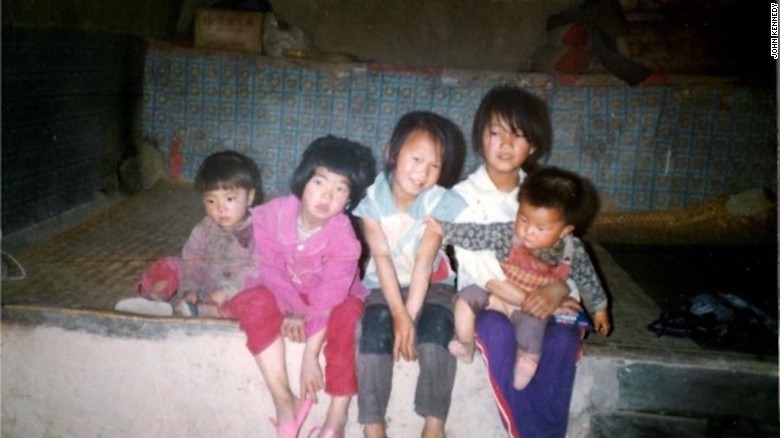 girls born during chinaus onechild policy sit in a village