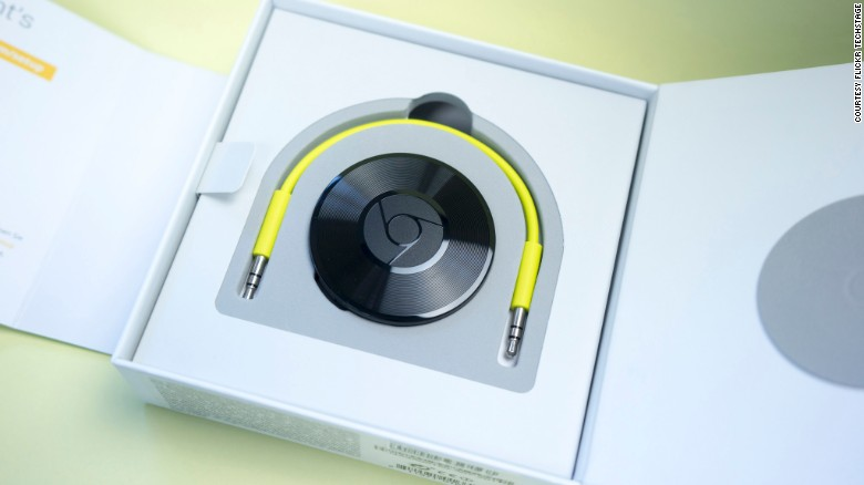 Everything's a little better with music, but there's not always a Bluetooth speaker or iPod dock at the ready. That doesn't matter with Chromecast Audio.