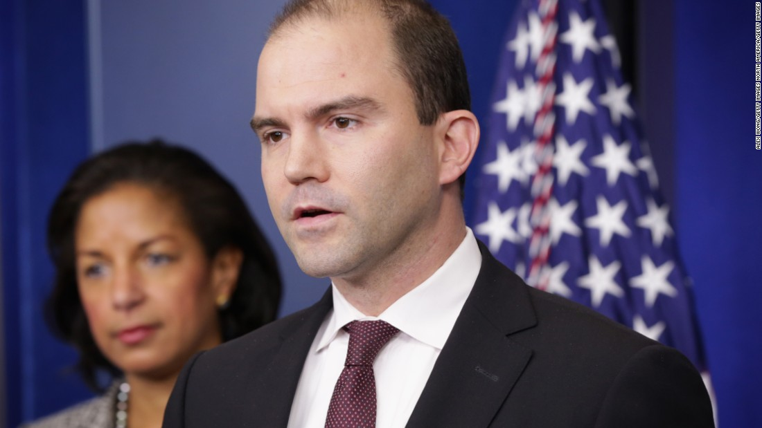 image of Ben Rhodes fires back at Trump wiretap claims