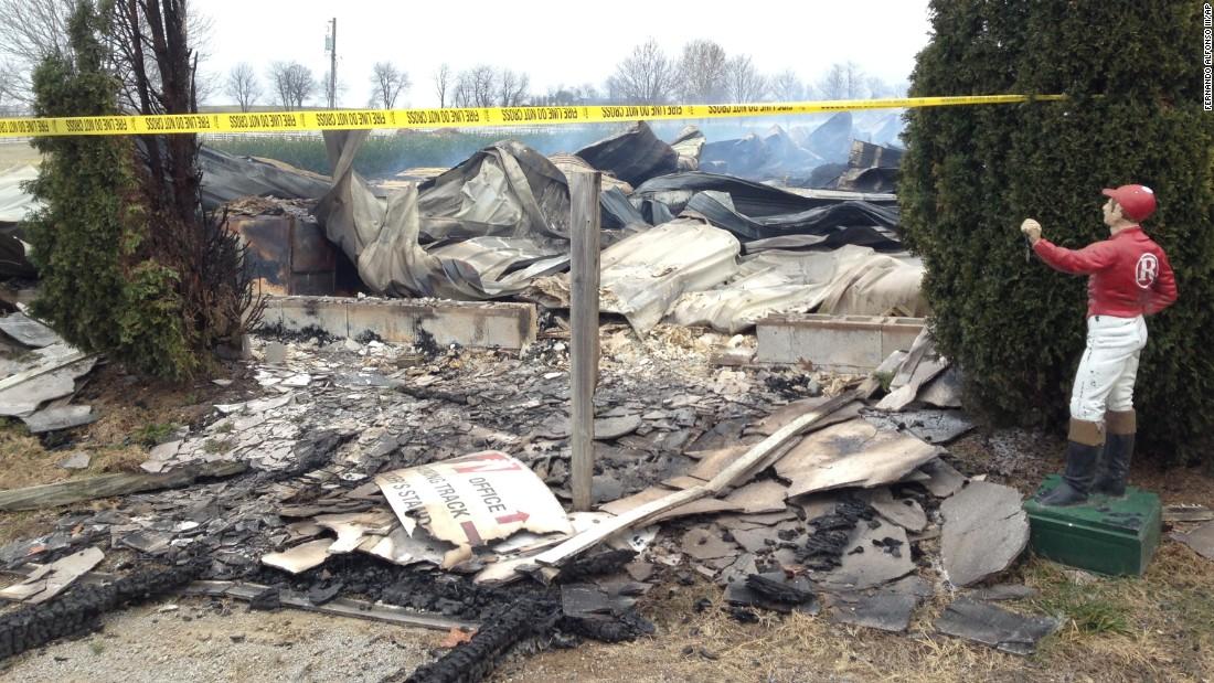 Kentucky Barn Fire Kills 23 Thoroughbred Horses Cnn Com