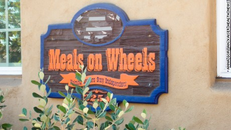 Meals on Wheels in San Diego County. The non-profit organization is undergoing a dramatic overhaul as it responds to changing demographics, increased competition and decreased resources. (Anna Gorman/KHN)