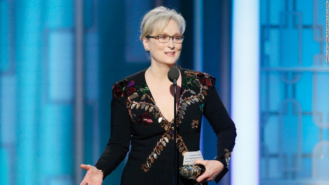 Steven Spielberg, Meryl Streep, Tom Hanks.