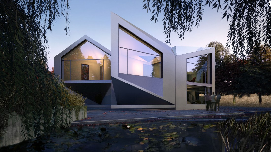 Will these houses make you dizzy? Architects build rotating homes