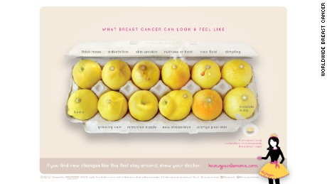 Carton of lemons offers simple lesson about breast cancer