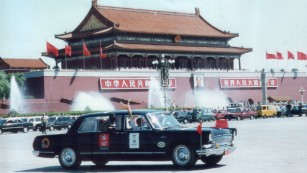 The collector using classic cars to share the history of Communist China