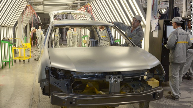 The new train line could provide a boost to Morocco's auto industry.