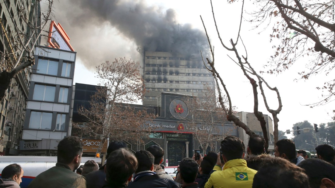 Tehran's Plasco collapse: A tragedy for a nation and my family