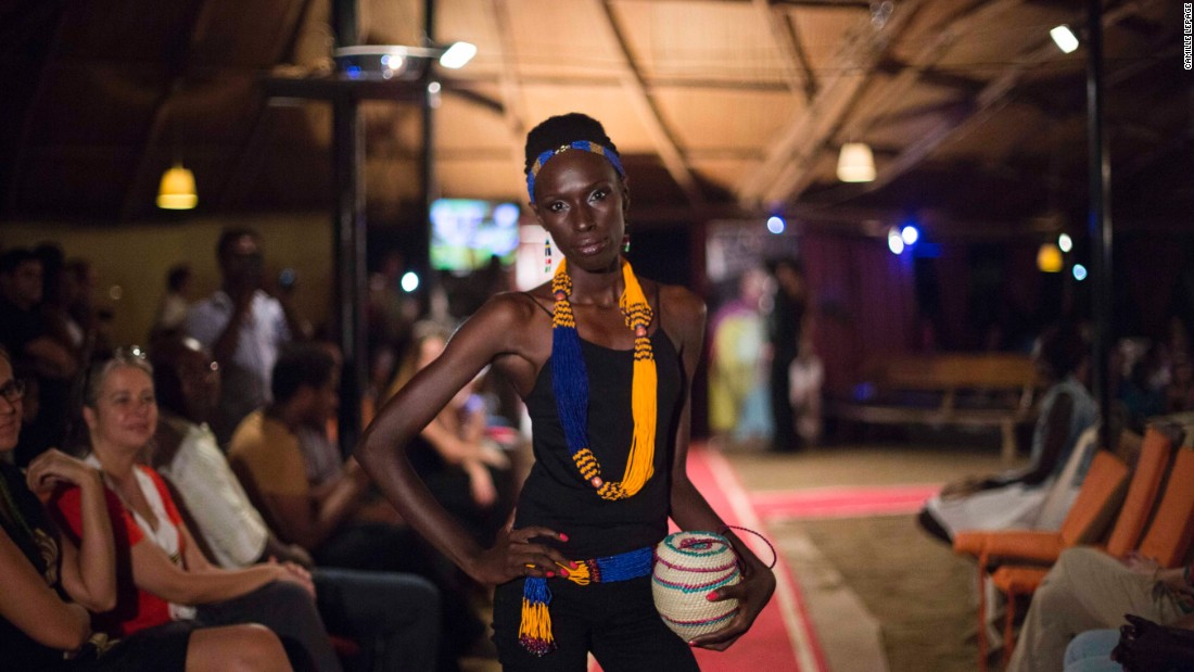How to hold a fashion show in a war zone