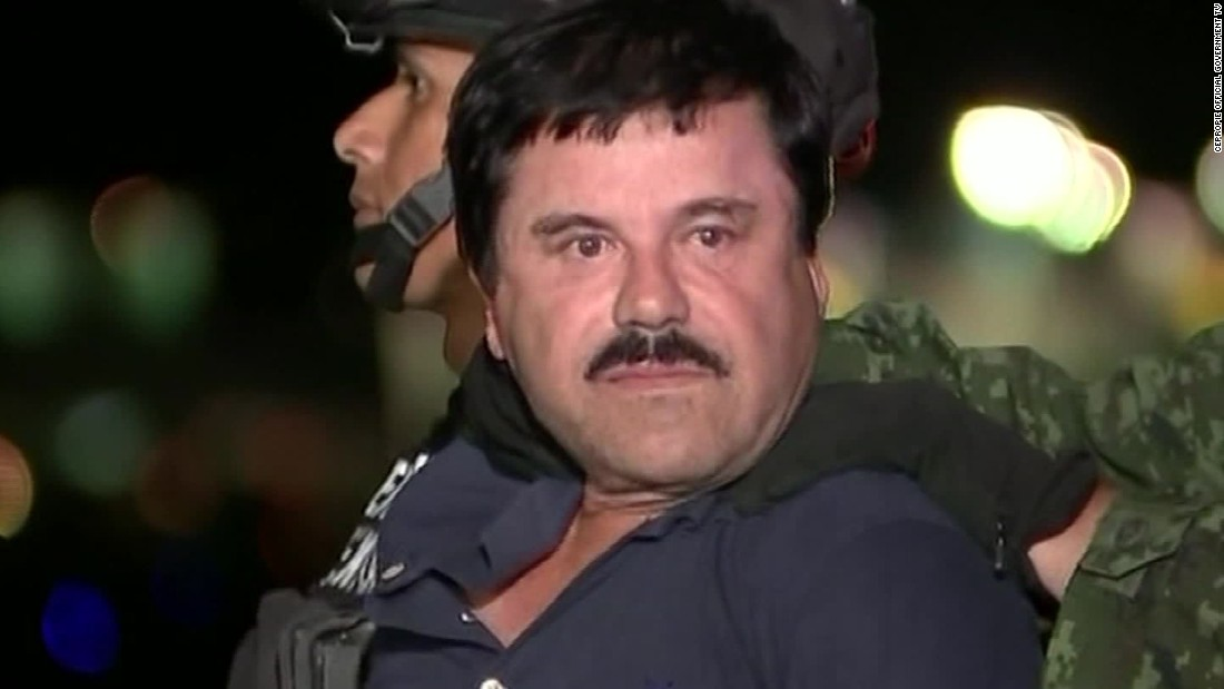 Miraculous El Chapo39 Guzman Extradited Drug Kingpin Arrives In Us Cnn Com Short Hairstyles Gunalazisus