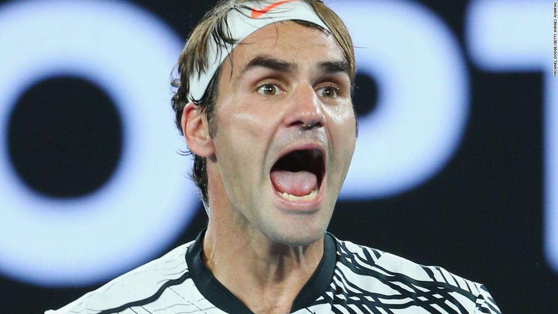 Australian Open 2017: Federer hitting right notes
