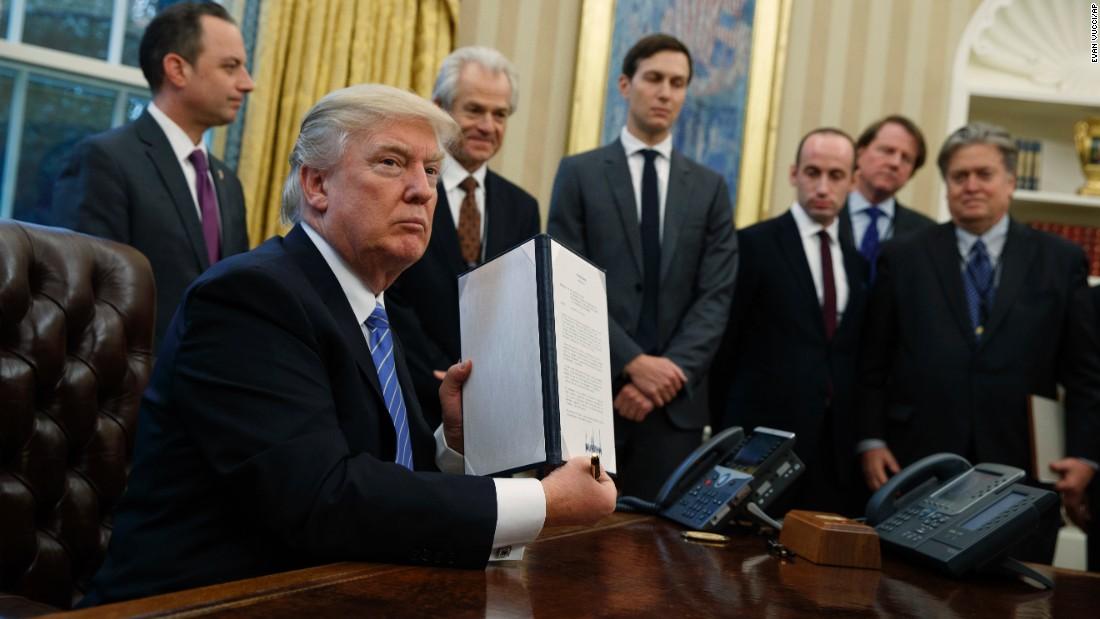 Gag me: Trump's anti-abortion executive order