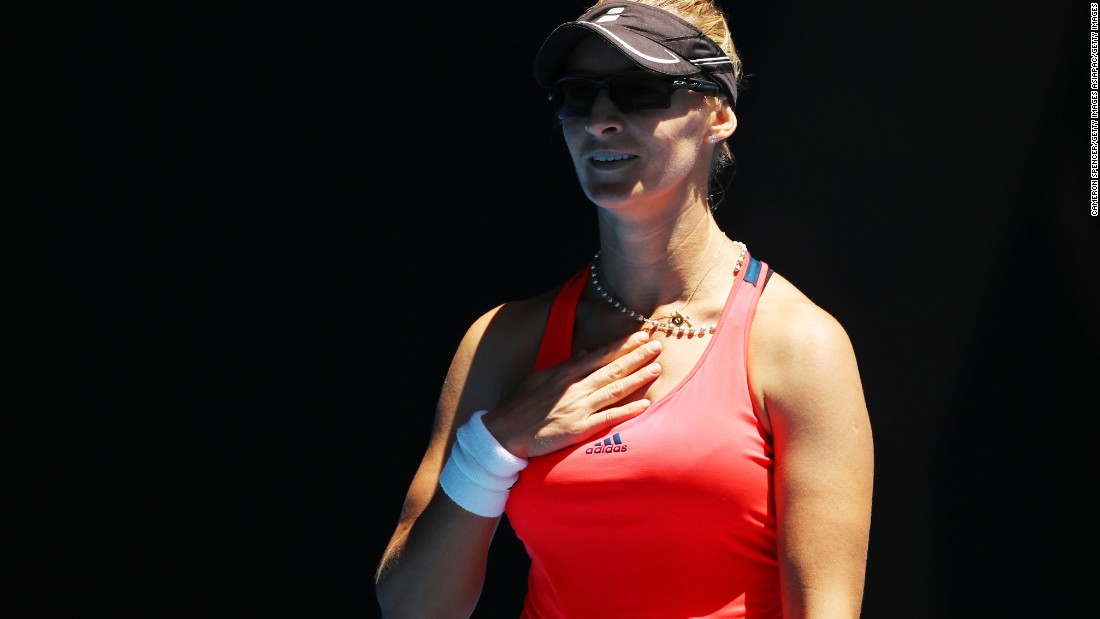 After nearly 20 years, former tennis prodigy Lucic-Baroni back in major semifinal