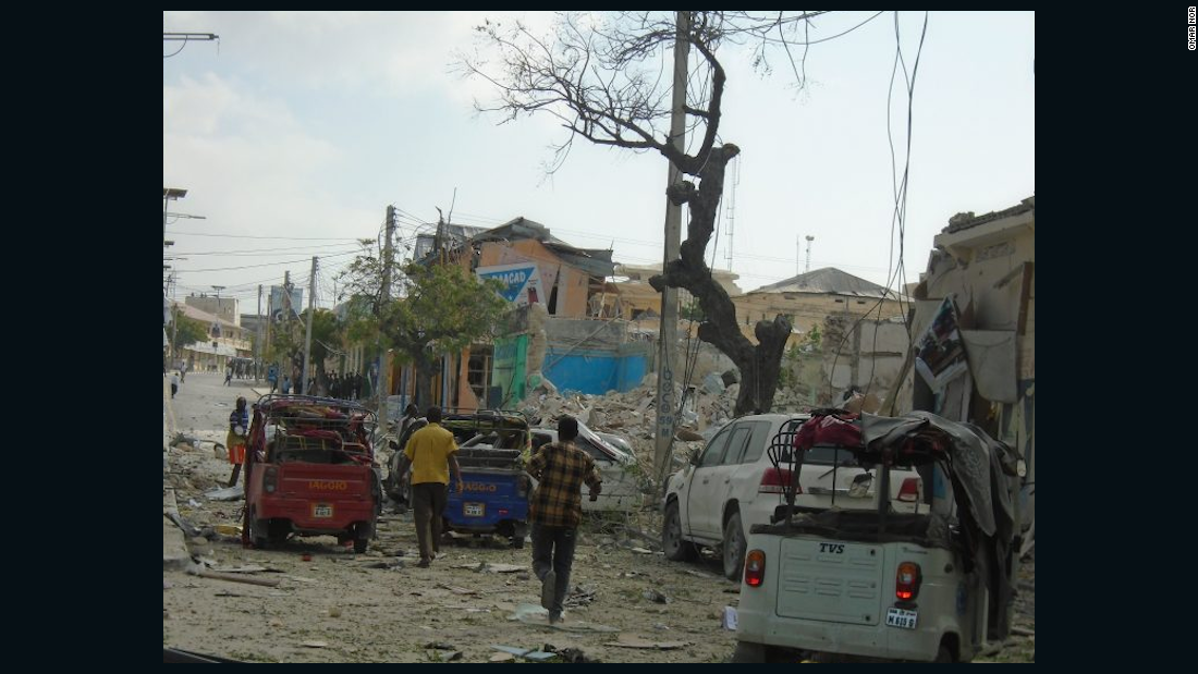 Mogadishu attack: At least 5 dead after explosion outside hotel