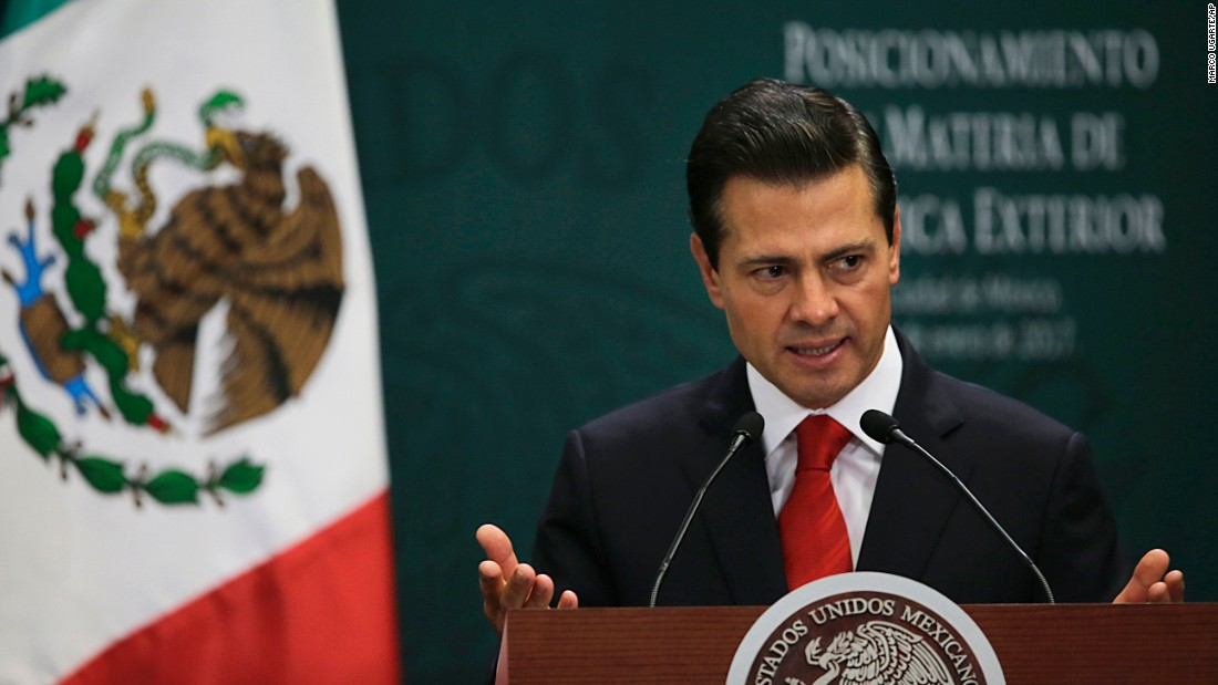 Mexicos foreign minister: Paying for border wall totally unacceptable