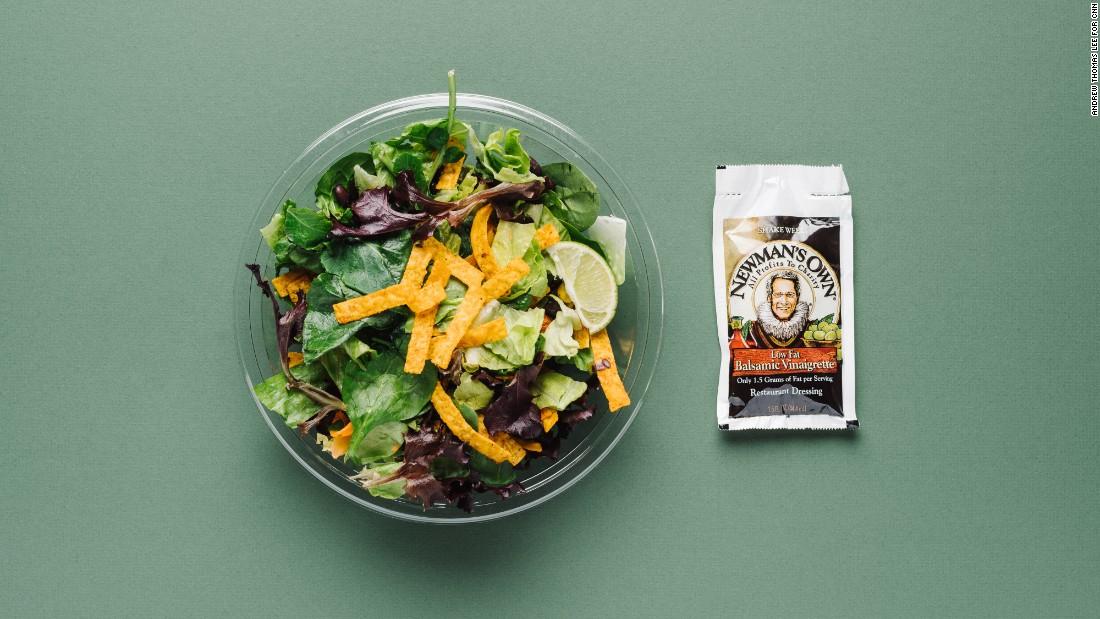 Fast Food Low Sodium Salads