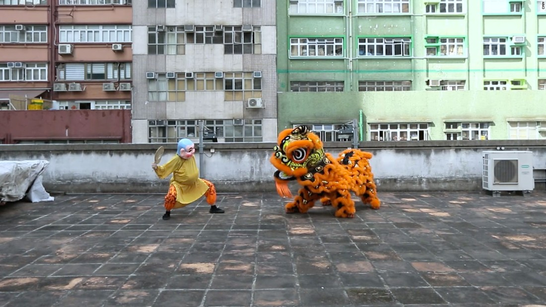 Lunar New Year: The art of the lion dance