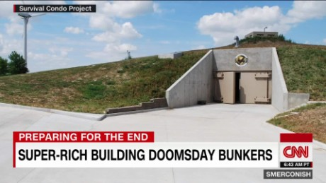 Risultati immagini per Billionaire bunkers: How the 1% are preparing for the apocalypse