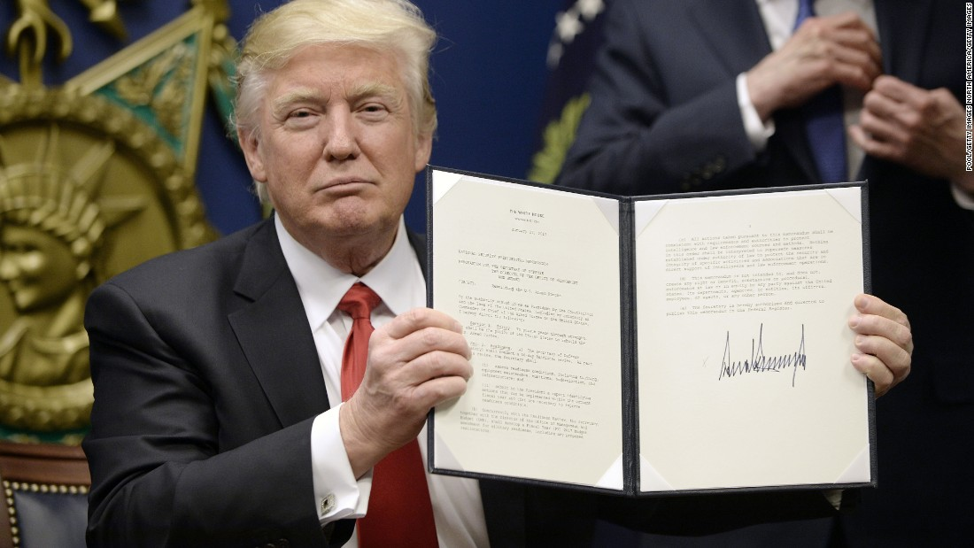 Donald Trump's travel ban fundamentally changes American history