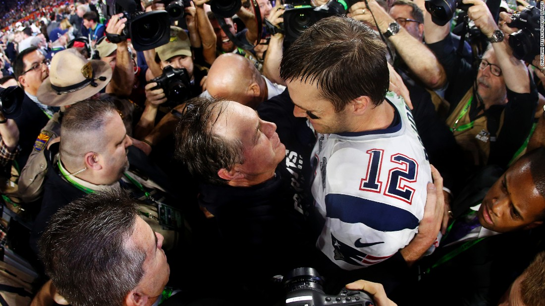 Historic pairing: Tom Brady, Bill Belichick in 7th Super Bowl