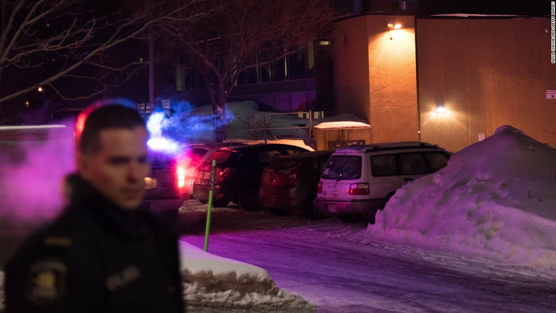 Mosque Shooting Live Stream Pinterest: Suspect Charged In Quebec Mosque Attack