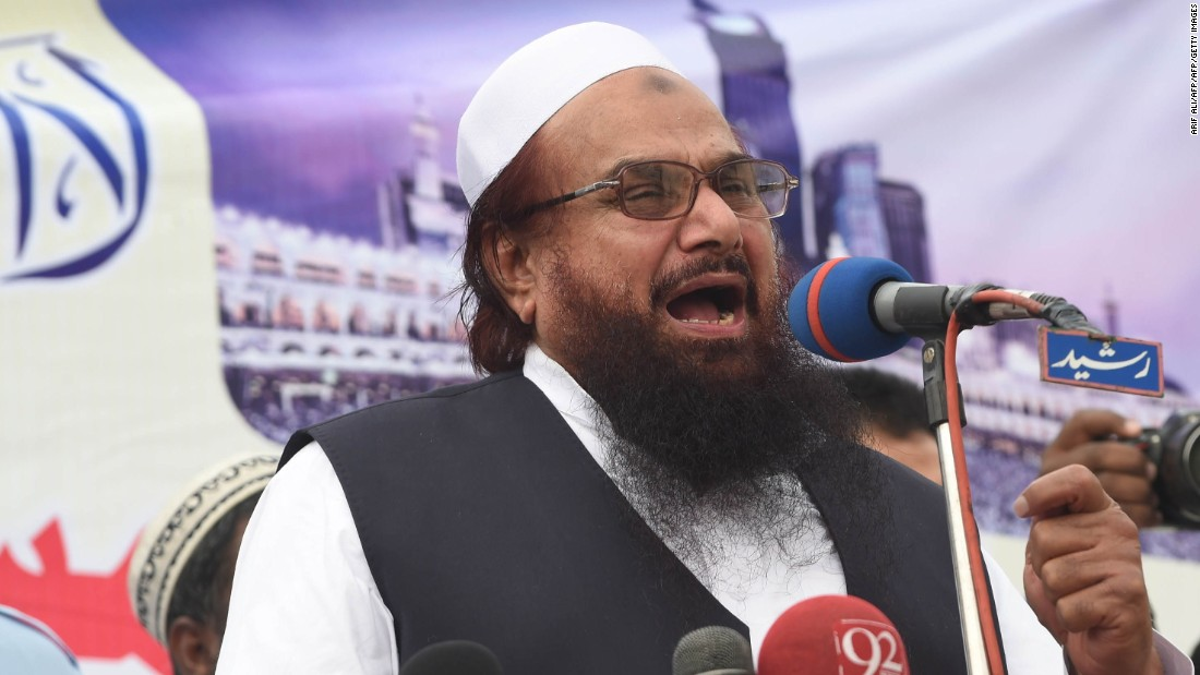 Pakistan detains alleged Mumbai attack mastermind, Hafiz Saeed