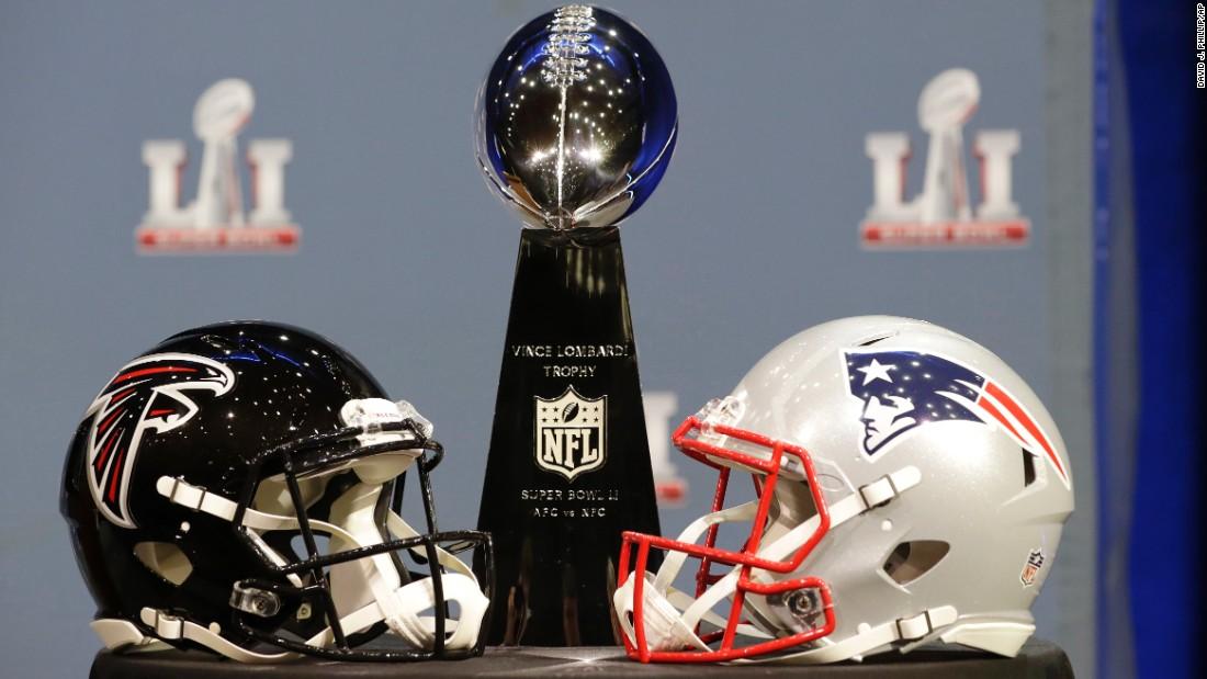 Patriots and Falcons set for Super Bowl showdown