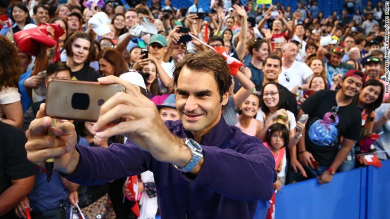 18 reasons to love Roger Federer