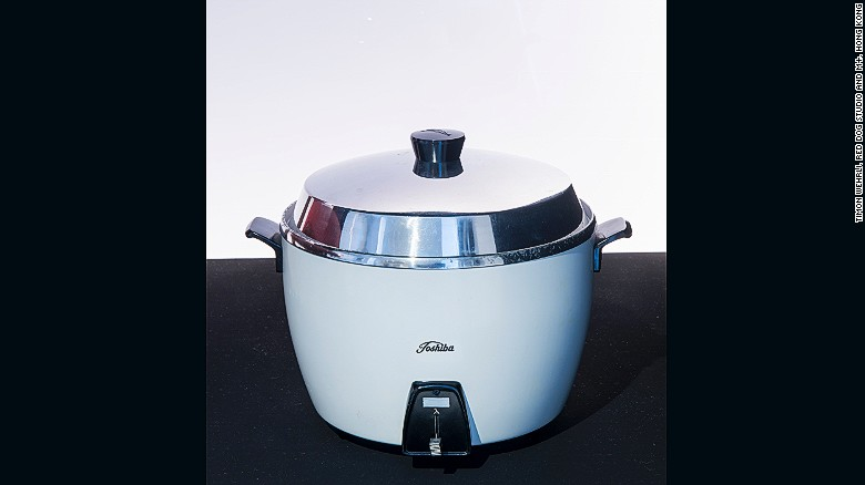 A rice cooker manufactured by Tokyo Shibaura Electric Co., Ltd. (Now Toshiba Corporation)