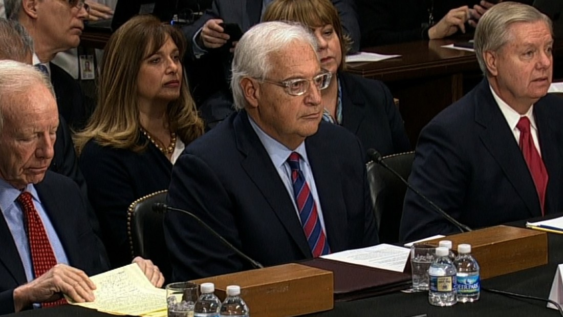 Senate grills US envoy to Israel pick after Trump scraps ...