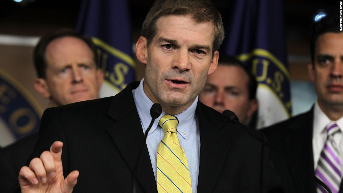Rep. Jordan confronts protesters but finds no common ground
