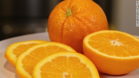 Oranges contain vitamin C, which fights premature aging.