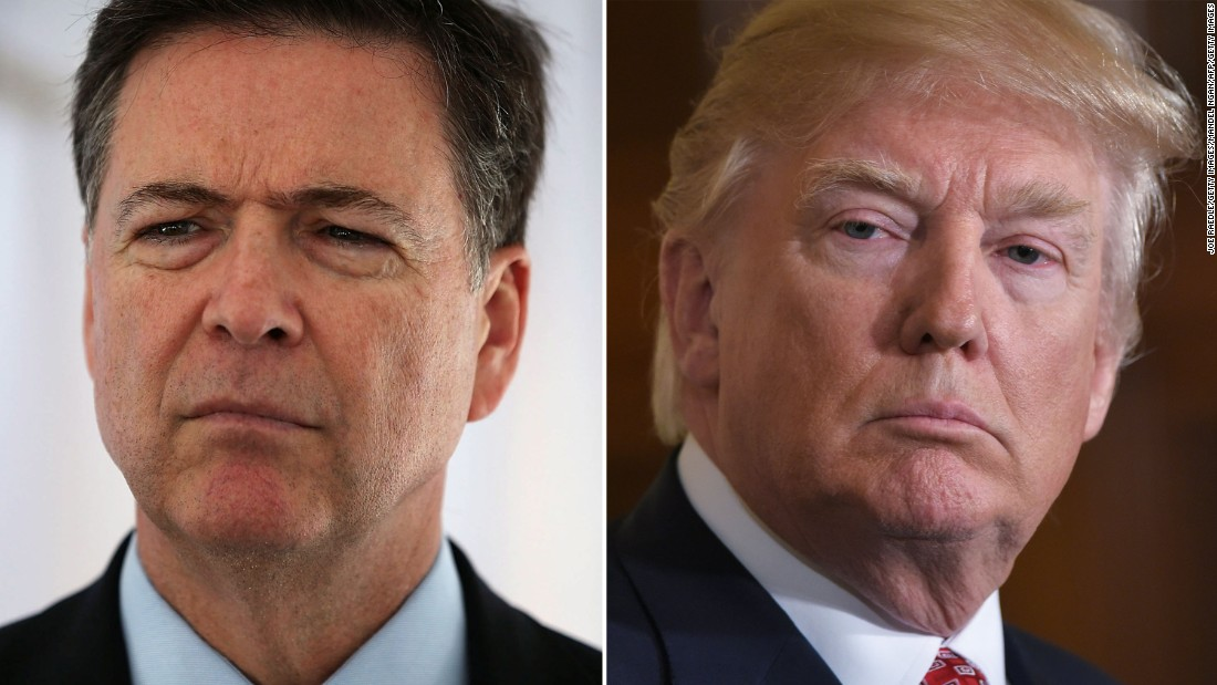 image of James Comey: Trump said he expected loyalty