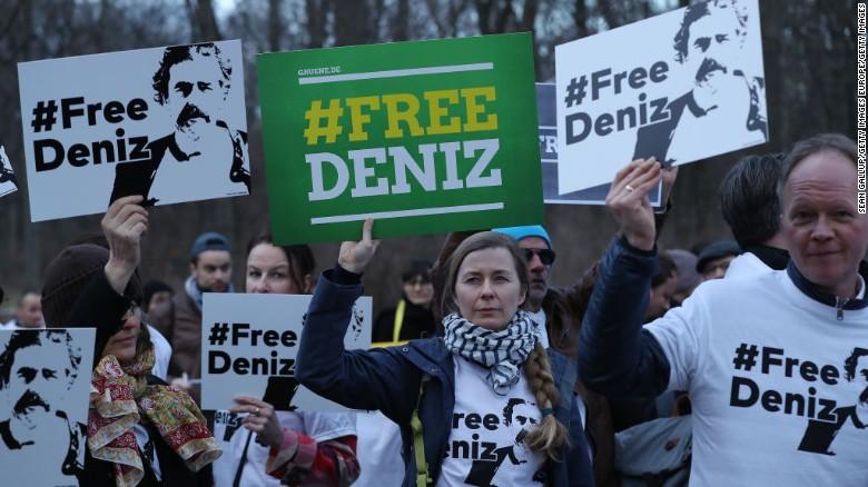 Journalist Deniz Yucel has now been held in Turkey for more than 200 days, according to German authorities.