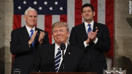 President Trump addresses Congress Feb 28 2017