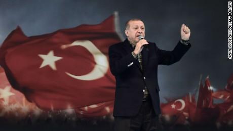 Erdogan: Germany using 'Nazi practices'