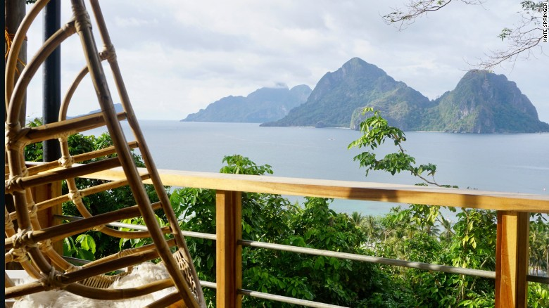 """The Bird House's """"Mother Nest"""" overlooks Bacuit Bay, in El Nido."""